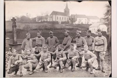 Die Ortschaft Wahl im Ersten Weltkrieg