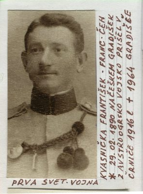 Moj nono Kvasnička František (Franc)
