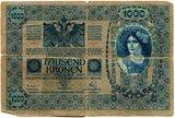 Bankovec 1000 kron