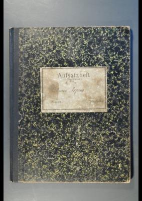 38 Prisoner of War autograph book