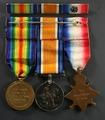 Robert Sergeant, Service Medals