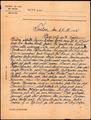 Brief von Lorenz Löffler aus Trelon