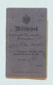 Militärpass - Johann Arnold