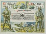 Kriegschronik 1918