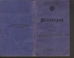 Militärpass - Johann M. Brandstetter