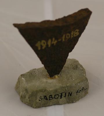 Spominek s Sabotina