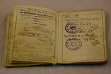 Vojaška knjižica Johanna Lazarja