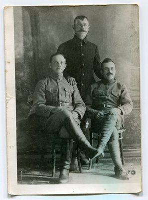 Matija Medved, Matija Berginc in nečak Simona Gregorčiča - Pomolč z Vrsnega