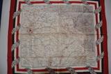 Dækserviet med landkort
