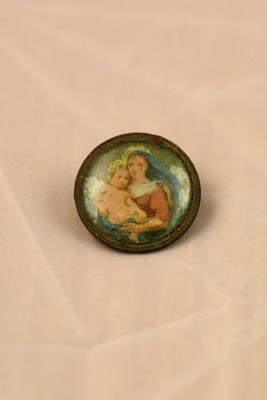 Broška Marije z Jezuščkom