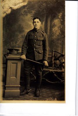 Royal Field Artillery, Leo Billington of Preston