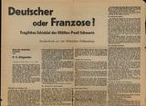 Artikel in der Zeitung über Paoli Schwartz