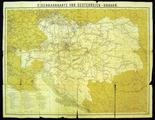 Zemljevid železniških prog Avstro-ogrske vojske iz 1. svetovne vojne