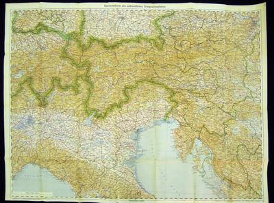 Zemljevid jugozahodnega bojišča