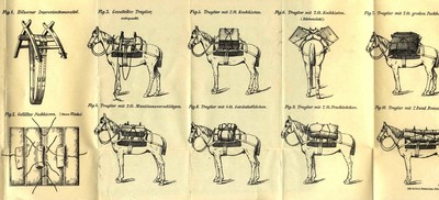 Priročnik za tovorjenje tovora s konji in mulami