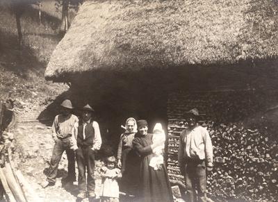 Družina Rutar z dojenčkom Jožefom, Zadlaz Čadrg