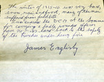 Papers, Photograph, Account and Medals of James Englisby, Athboy, Co. Meath