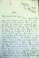 Letters written by Charles Patrick Flanagan, Royal Flying Corps