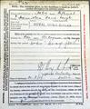Character certificate David Joseph Hamilton