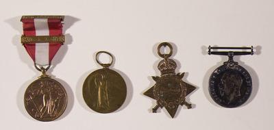 Medals of Redmond O'Sullivan