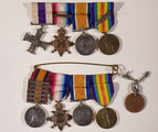 Military Cross and Service medals of Major Edward Sherlock and Medals of Gerard Sherlock