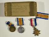 Medals and photographs of Saddler Sergeant James Morrissey