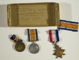Medals and photographs of Saddler Sergeant James Morrissey