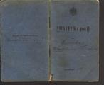 Militärpass - Robert Kirschner
