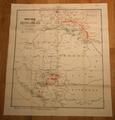 Zemljevid južne in vzhodne fronte