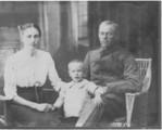 Min farfar og  min morfar.