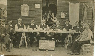 Internees at Knockaloe, Isle of Man