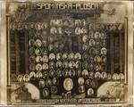 Spominska plošča v počastitev preživelih in padlih udeležencev I. svetovne vojne iz občine Bovec,1914-1918