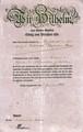 Max Kranz - Offizierspatent und Dokumente