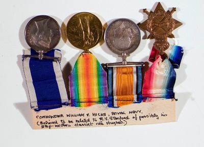 Medals of Commander WT Hicks, Royal Navy