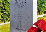 Record of Service and Death of Private J. Keany