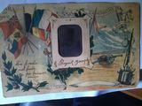 Carte postale 1914 / 1918 Lettre à mon épouse
