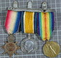 Medals of John Huggins, Royal Dublin Fusiliers