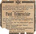 """Paul Ueberschär, """"Wehrmann"""", Hamburg-Blankenese, Feldpostkarten & Notizbuch"""