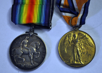 Medals belonging to John Flanagan
