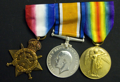 Medals belonging to G Frazer (1)