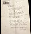 Brief v. Martin Diepgen (Versorgung)
