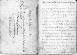 Manoscritto del soldato Mario Lodesani
