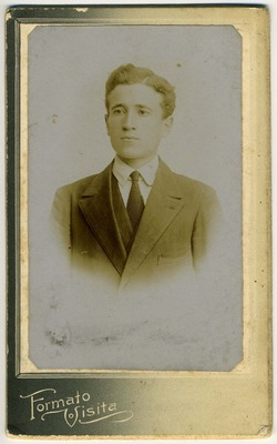 Carlo Barbieri a 21 anni