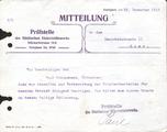 Antrag auf Entlassung - Emil G. Steinemann