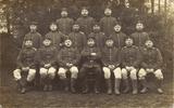 Mein Großvater Heinrich Georg Schlemm als Rekrut in Bremen