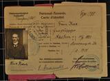Dokumente und Feldpost der Brüder Franz und Paul Kux