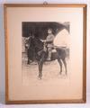 Foto im Rahmen, Fotos und Militärpass von Hubert Josef Eschweiler