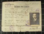 Besatzungsausweis, Militärpässe und Soldbuch von Hermann Werner