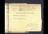 FRAD077-015_B Louis BOUYER, livret militaire