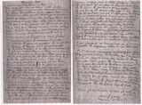 Dernière lettre de Max Ligardes à Mlle Louise Joly